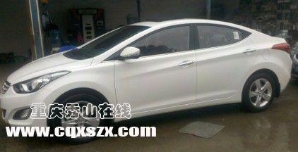出售2012款北京现代朗动