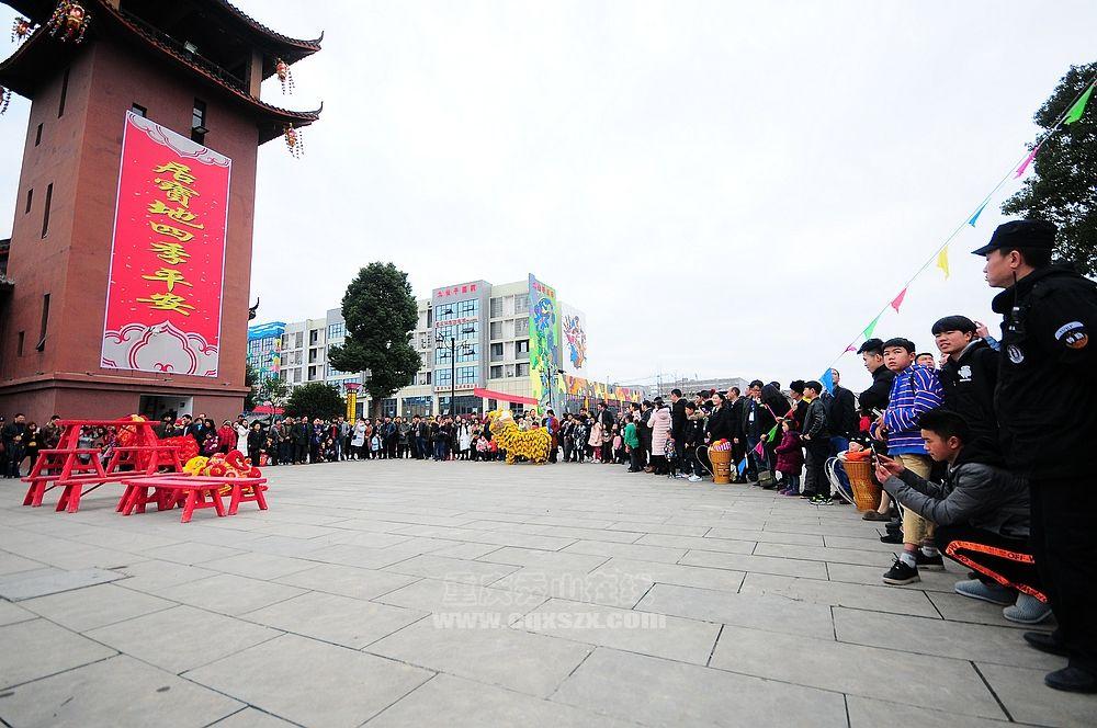 """2018年花灯美食街正月初八""""迎新春、开财门""""活动今晚盛大举行!"""