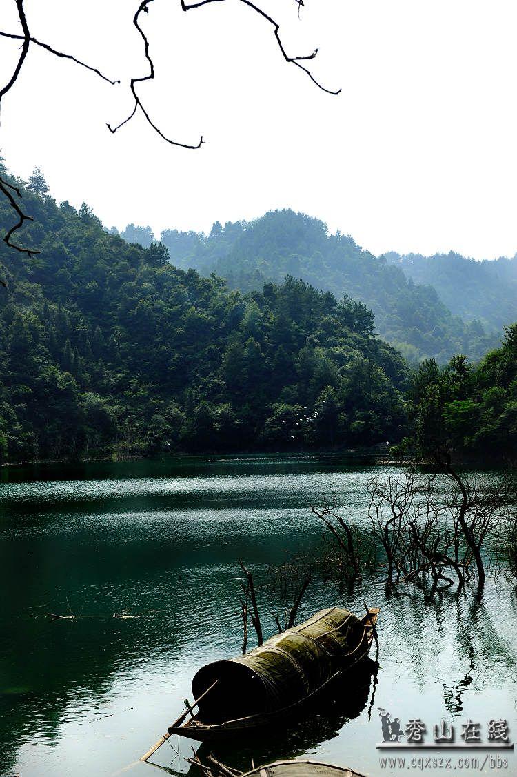 石堤大溪迷人风景